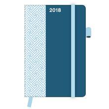 Agenda 2018 TeNeues CoolDiaries Pattern 9 x 14. Petrol