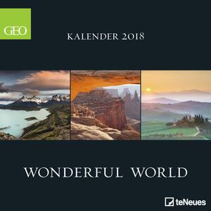 Calendario 2018 TeNeues Photography 30 x 30. Wonderful World