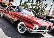 Calendario da muro TeNeues 29,7 x 42 / 42 x 29,7. Muscle & Classic Cars
