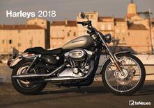 Calendario da muro TeNeues 29,7 x 42 / 42 x 29,7. Harleys