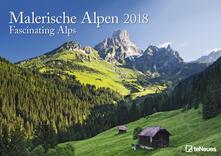 Calendario da muro TeNeues 29,7 x 42 / 42 x 29,7. Alpi da sogno
