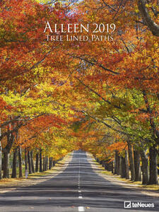 Calendario Poster 2019 TeNeues 48 x 64. Tree Lined Paths