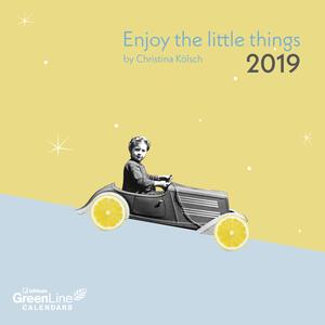 Calendario 2019 TeNeues GreenLine mini 17,5 x 17,5. Enjoy the Little Things