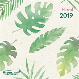 Calendario 2019 TeNeues GreenLine mini 17,5 x 17,5. Floral