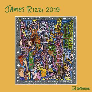 Calendario 2019 TeNeues 30 x 30. James Rizzi