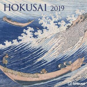 Calendario 2019 TeNeues 30 x 30. Hokusai