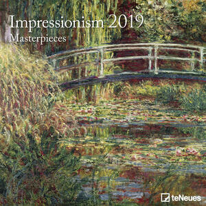 Calendario 2019 TeNeues 30 x 30. Impressionismo