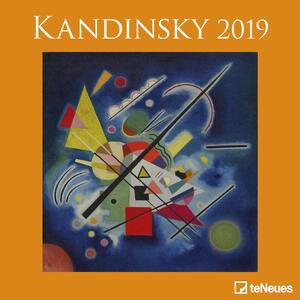 Calendario 2019 TeNeues 30 x 30. Kandinsky in Usa