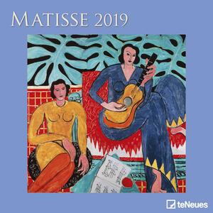 Calendario 2019 TeNeues 30 x 30. Matisse