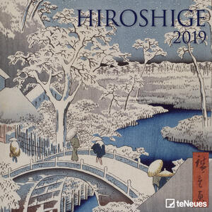 Calendario 2019 TeNeues 30 x 30. Hiroshoge