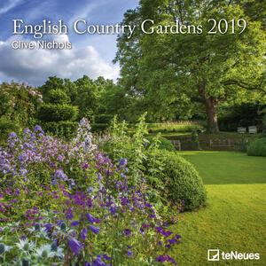 Calendario 2019 TeNeues 30 x 30. English Country Gardens. Giardini inglesi