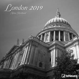 Calendario 2019 TeNeues 30 x 30. London. Londra