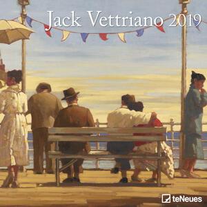 Calendario 2019 TeNeues 30 x 30. Jack Vettriano