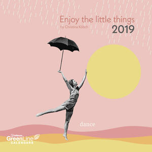 Calendario 2019 TeNeues GreenLine 30 x 30. Enjoy the Little Things