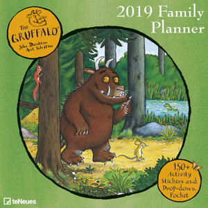 Calendario Family Planner 2019 TeNeues. Gruffalo