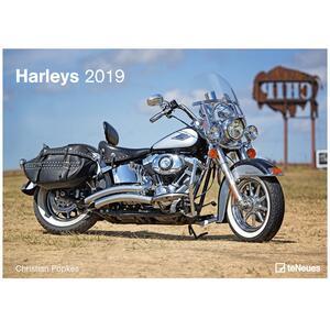 Calendario da muro 2019 TeNeues Art & Image 29,7 x 42. Harleys