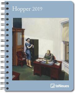 Diario 2018-2019, 14 mesi, TeNeues Deluxe Diaries large. Hopper