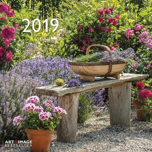 Calendario 2019 TeNeues Art & Image 30 x 30. Garden and Decoration. Giardini
