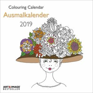 Calendario da colorare 2019 TeNeues Art & Image 30 x 30