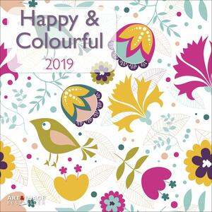 Calendario 2019 TeNeues Art & Image 30 x 30. Happy & Colourful