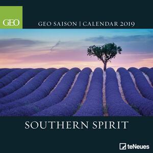 Calendario 2019 TeNeues 30 x 30. South Spirit. GEO