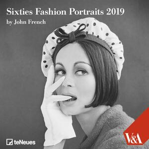 Calendario 2019 TeNeues 30 x 30. Sixties Fashion