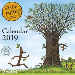 Calendario 2019 TeNeues mini 17,5 x 17,5. Stick Man