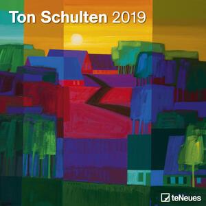 Calendario 2019 TeNeues 30 x 30. Ton Schulten