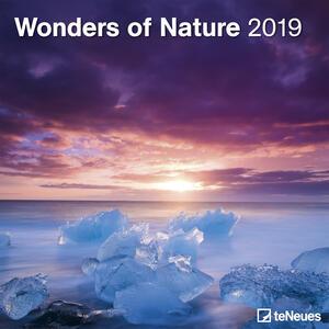 Calendario 2019 TeNeues 30 x 30. Wonders of Nature. Meraviglie della natura