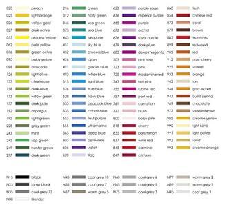 Pennarelli acquarellabili Dual Brush Tombow. Confezione 10+2 colori primari - 6