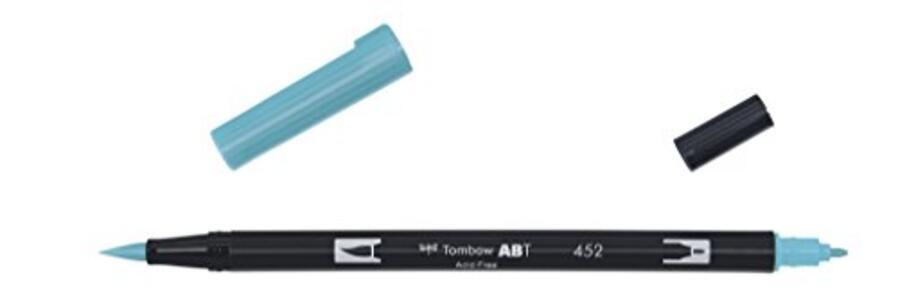 Pennarelli acquarellabili Dual Brush Tombow. Confezione 15+3 colori pastello - 5