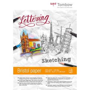 Album carta da disegno sketching Bristol Tombow
