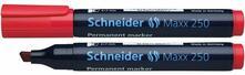Marcatore permanente Schneider Maxx 250 rosso