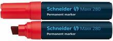 Marcatore permanente Schneider Maxx 280 rosso