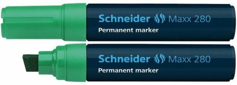 Marcatore permanente Schneider Maxx 280 verde