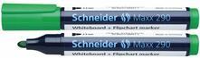 Marcatore per lavagne Schneider Maxx 290 verde punta tonda 1-3 mm