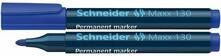 Marcatore permanente Schneider Maxx 130 blu. Confezione 10 pezzi
