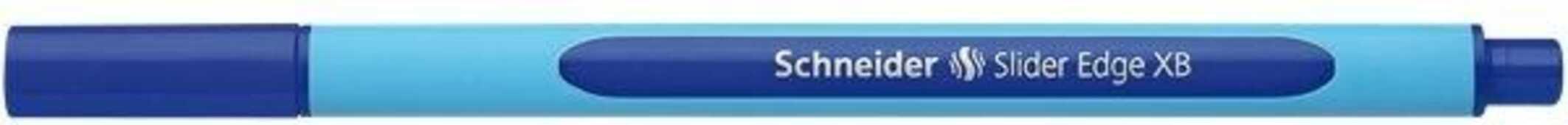 Cartoleria Penna a sfera Schneider Edge blu Schneider