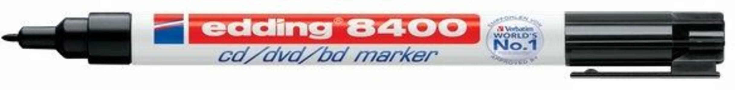 Marcatore per CD/DVD Edding 8400 nero