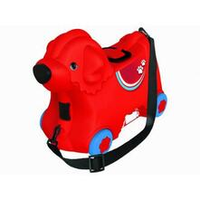 Big Trolley Cagnolino Rosso
