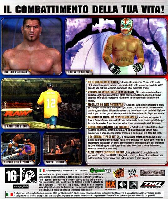 WWE Smackdown Vs. Raw 2006 - 2