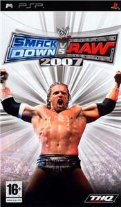 Videogioco WWE SmackDown vs. RAW 2007 Sony PSP 0