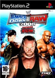 Videogioco WWE SmackDown vs. Raw 2008 PlayStation2 0