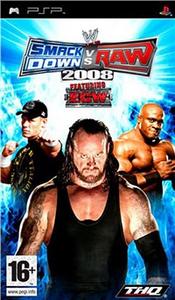 Videogioco WWE SmackDown vs. Raw 2008 Sony PSP 0