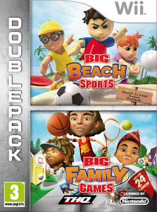 Videogioco Big Beach Sports & Big Family Games Nintendo WII 0