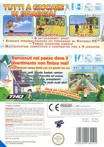 Videogioco Big Beach Sports & Big Family Games Nintendo WII 1