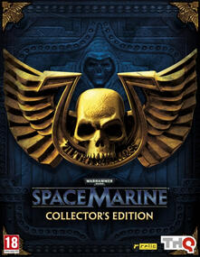 BANDAI NAMCO Entertainment Warhammer 40000: Space Marine Collector Ed, Xbox 360 Collezione Inglese