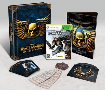 Videogioco Warhammer 40,000 Space Marine Collector's Edition Xbox 360
