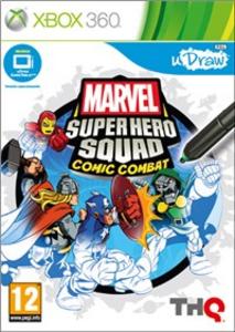 Videogioco Marvel Super Hero Squad: Comic Combat - uDraw Xbox 360 0