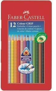 Faber-Castell Colour Grip pastello colorato 12 pezzo(i) Multi